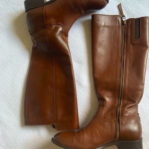 Johnston & Murphy Women's Leather Riding Boots 8M